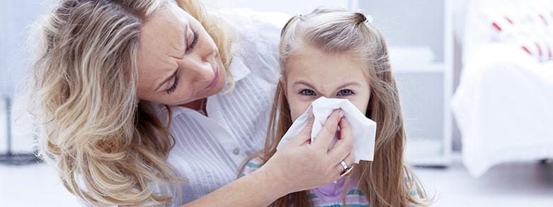 Använd koksaltlösning istället för nässpray