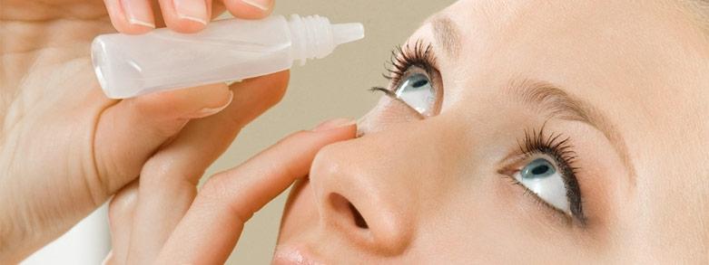 koksaltlösning ögon linsvätska ögondroppar